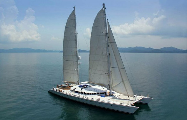The Current Top Ten Largest Luxury Catamarans For Charter Powercats Amp Sailing Yachts